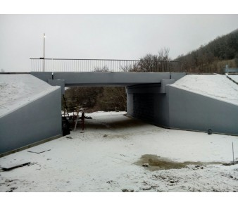 Окраска моста на а/д Севастополь-Ялта, с. Гончарное, отметка 8+457>
