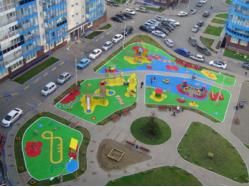 ЖК «Орбита» Детские площадки, г. Красноярск
