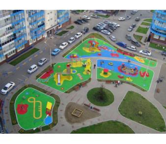 ЖК «Орбита» Детские площадки, г. Красноярск>