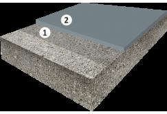 Паропроницаемое матовое покрытие толщиной 1,5 мм для оснований с повышенной влажностью