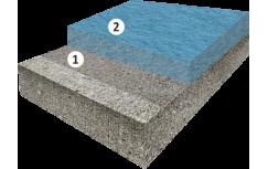 Высоконаполненное полиуретан-цементное покрытие пола, толщиной от 6 мм