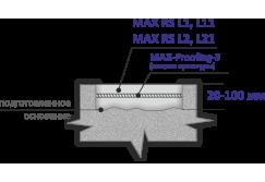 Ремонт горизонтальных поверхностей  — безусадочные быстротвердеющие сухие бетонные смеси наливного типа