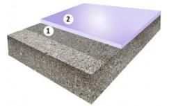 Гладкое цветное эпоксидное покрытие, толщиной 1,5-2,0 мм